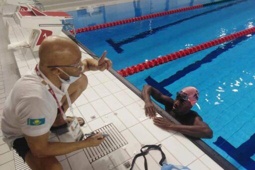 ممثل السودان في السباحة بالأولمبياد يبدأ تحضيراته