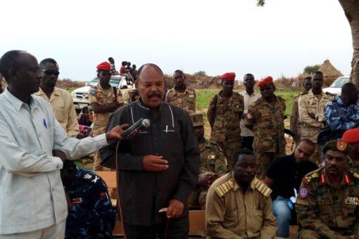 لجنة أمن جنوب دارفور تتفقد قرى العودة الطوعية بشرق نيالا