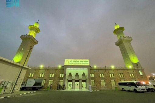 حجاج بيت الله الحرام يبيتون بمزدلفة استعداداً ليوم النحر