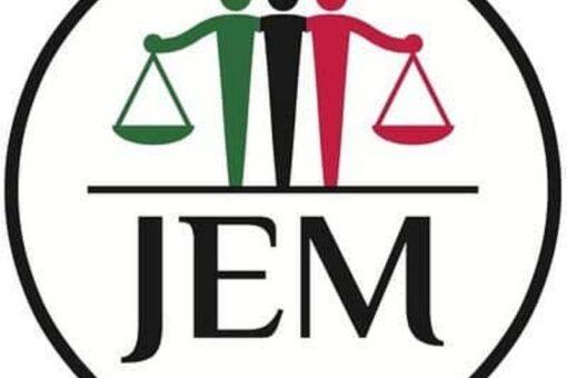 حركة العدل والمساواة تتقدم بالتهاني بمناسبة عيد الأضحى المبارك