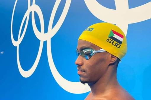 سكرتير الأولمبية يشيد بالسباح أبوبكر