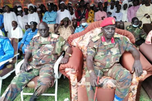 الحركة الشعبية قيادة عقار تبشر باتفاقية سلام جوبا بمحلية ودالماحي
