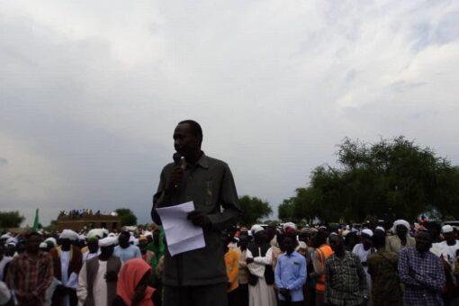 الإدارة الاهلية ولجان المقاومة بمحلية باو تؤكد دعمها لعملية السلام