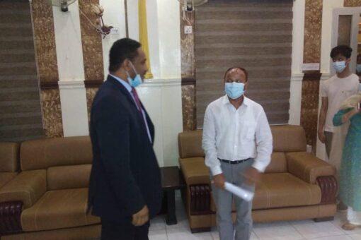 وراق يبحث مع سفير الهند سبل تعزيز إلتعاون المشترك
