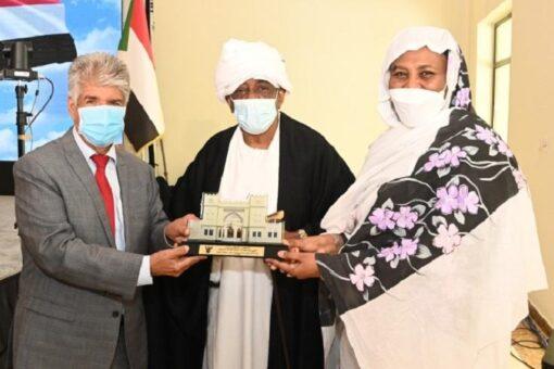 وزيرة خارجية السودان تكرم المؤسسة الملكية للأعمال الإنسانية
