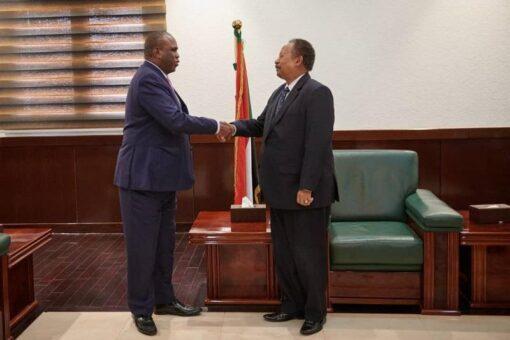 حمدوك يلتقي رئيس البنك االافريقي للاستيراد والتصدير