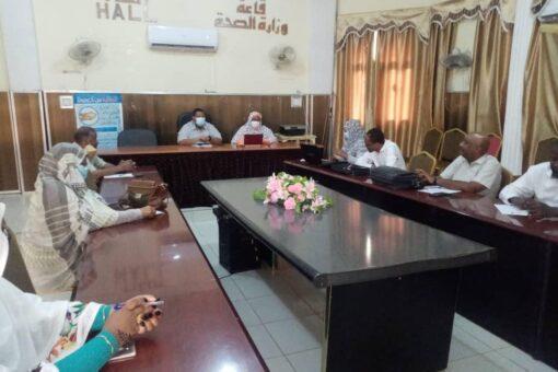 اللجنة الفنية لطوارئ الخريف بالجزيرة تقف على الوضع الصحي
