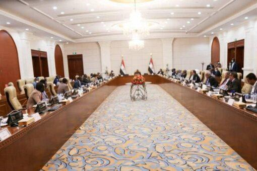 رئيس مجلس السيادة يتراس إجتماع المجلس الأعلى للسلام