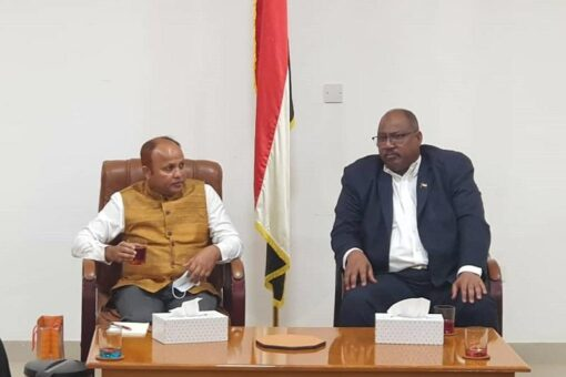 السفير الهندي بالسودان يزور محلية الرهد ابو دكنه