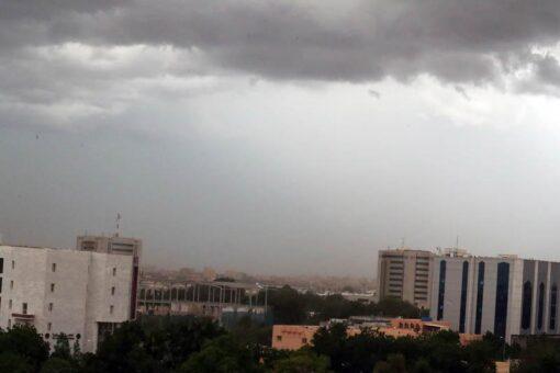 رصد معدلات هطول الأمطار في ولايات البلاد المختلفة