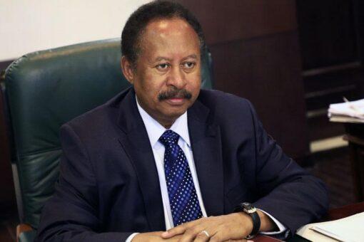 د. حمدوك يستقبل المخرج السوداني سعيد حامد