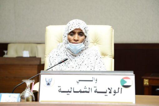 والي الشمالية تناقش مع تنسيقية لجان المقاومة قضايا المواطنين