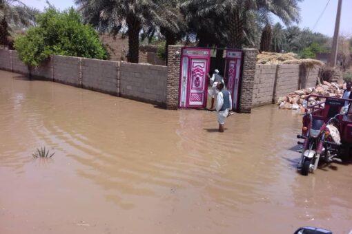 المدير العام للبنى التحتية بنهر النيل يقف على الأوضاع بالفاضلاب