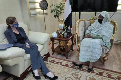 وزيرة الخارجية تلتقي المديرة التنفيذية لوكالة المعونة الأمريكية