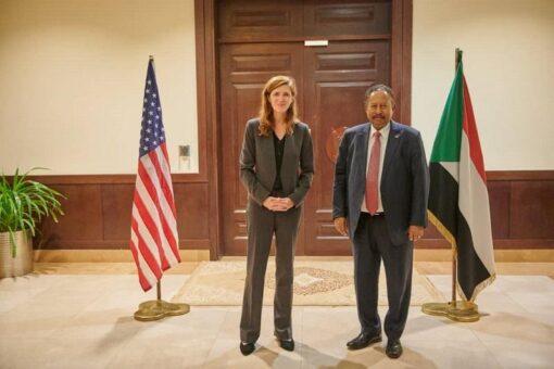 د.حمدوك يلتقي المديرة التنفيذية للوكالة الأمريكية للتنمية الدولية