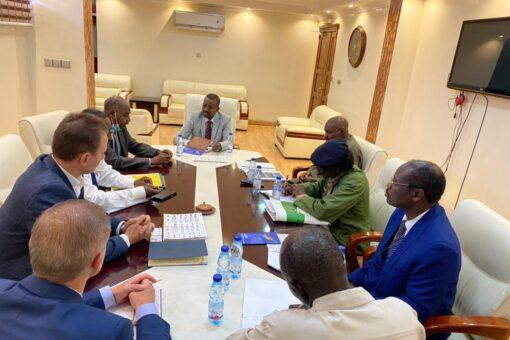السودان يرحب بالتعاون مع بلاروسيا للطرق والتنمية الحضرية