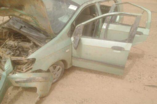 وفاة ثلاثة أشخاص وإصابة آخر في حادث بطريق دنقلا أرقين