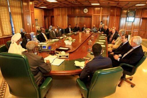 محافظ البنك المركزي يلتقي وفد الكنغرس الأمريكي