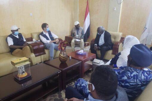 والي سنار يبحث مع السفير الكندي لدى السودان دعم التكنولوجيا