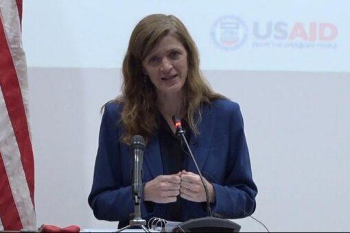 سامانتا تؤكد أهمية بناء شراكات بين السودان وامريكا