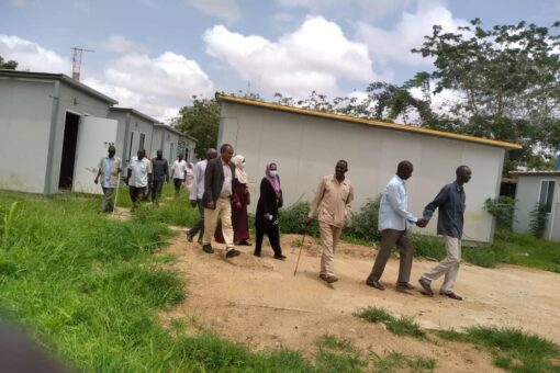 وفد من حكومة شمال دارفور يتفقد الأوضاع الصحية بمحلية كبكابية