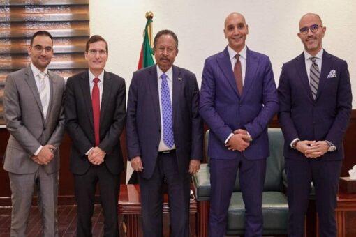 حمدوك:تعاون شركة فيزا مع السودان خطوة للانفتاح والتكامل الاقتصادي