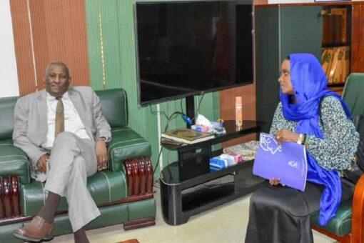 النائب العام المكلف يلتقي بمدير وحدةمكافحة العنف ضد المرأة