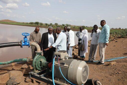 تدشين خطوط مياه شرب جديدة بالقضارف