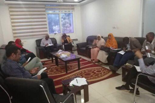 انعقاد اجتماع لجنة الإعلام لتنظيم ملتقى رجال الاعمال السوداني السعودي