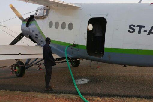 إنطلاق حملة الرش بالطائرات لمكافحة نواقل الامراض بولاية الخرطوم