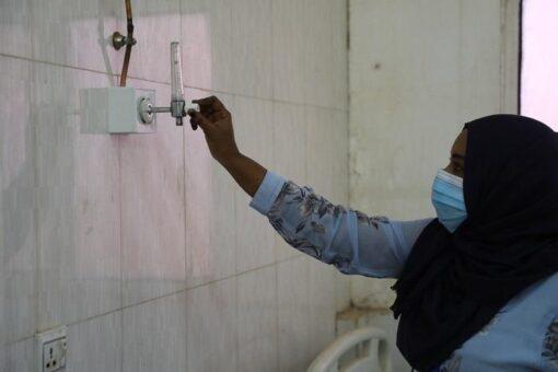 منظمة صدقات تنفذ شبكة أوكسجين بأكثر من 4 مليون