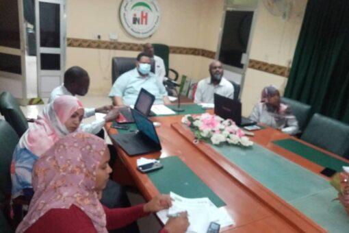 إجتماع مشترك بين الصحة والتأمين الصحي بالجزيرة