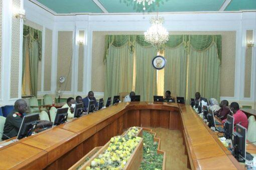 كباشي يؤكد حرص المجلس على إكمال الأجهزة العدلية