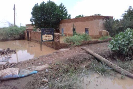 إنخفاض منسوب نهر النيل الرئيسي والعطبراوي بمحطة عطبرة