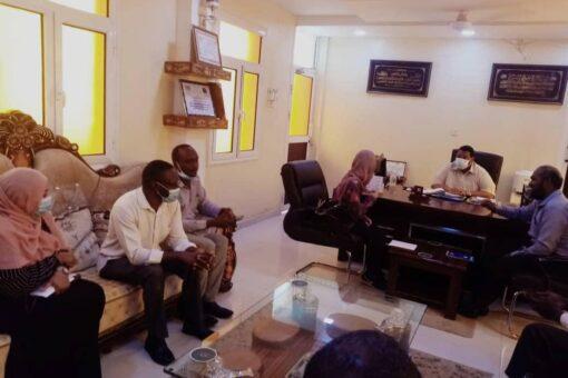 الصحة بالجزيرة وجايكا يبحثان تطوير النظام الصحي بالولاية