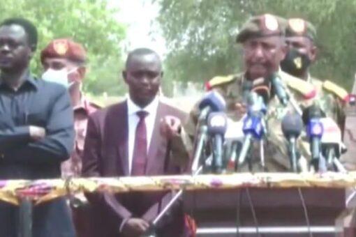 رئيس مجلس السيادة: اليوم البداية الحقيقية للسلام وأولى خطواته
