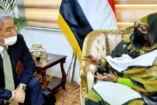 """وزيرة الخارجية تثمن دعم اليابان المستمر للسودان عبر """"جايكا"""""""