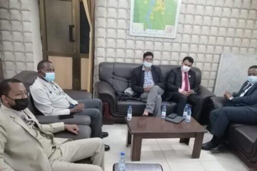 عيادة متحركة من مجموعة استر الطوعية لوزارة الصحة بولاية الخرطوم