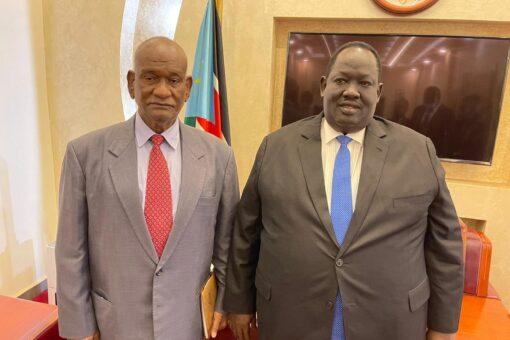 مبعوث السودان الخاص للسلام في جنوب السودان يزور جوبا