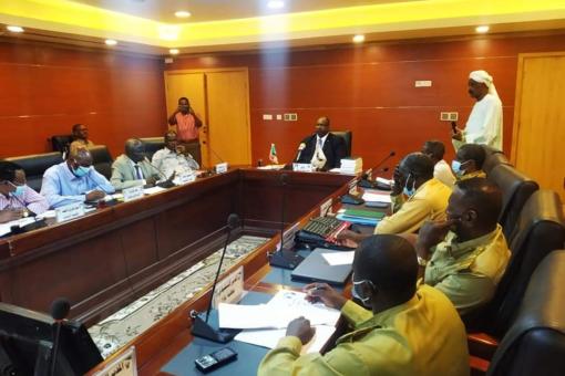 حكومة شمال كردفان تستعرض الاداء العام للوزارات بالولاية