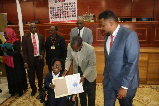 ولاية الخرطوم تحتفل باليوم العالى للشباب بمشاركة منظمة قلوبنا ليكم