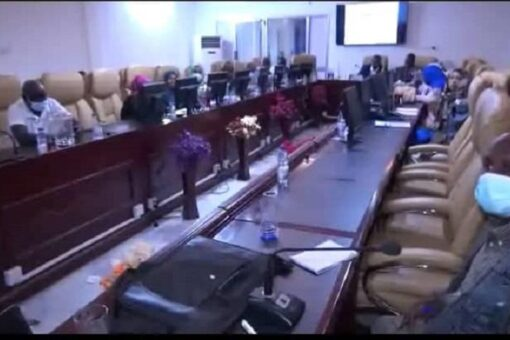 أمين عام حكومة النيل الأبيض يلتقى الوفد الإتحادى للأمن الغذائي