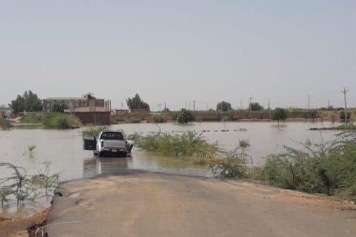 إرتفاع منسوب النيل الرئيسي بمحطة عطبرة