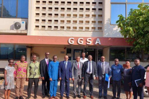 مباحثات سودانية غانية لتبادل التجارب فى مجال التعدين