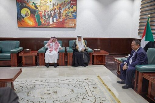 حمدوك يتلقى دعوة من ولي العهد السعودي