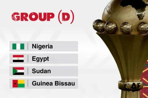 السودان في مجموعة نيجيريا ومصر وغينيا بيساو بأمم افريقيا