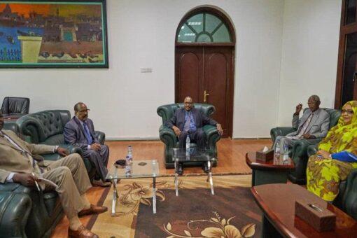 المدير التنفيذي لمكتب رئيس مجلس الوزراء يلتقي وفد مبادرة المغتربين