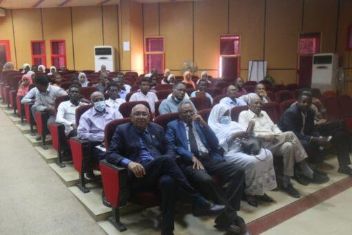 محاضرة تنويرية حول سد النهضة بجامعة السودان
