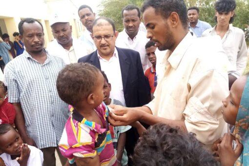 التأمين الصحي بنهر النيل يسير قافلة صحية لمنطقة المناصير