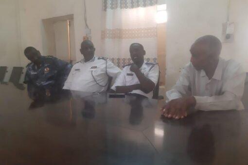 شرطة المرور بنهر النيل تقف على الخدمات المرورية بابوحمد